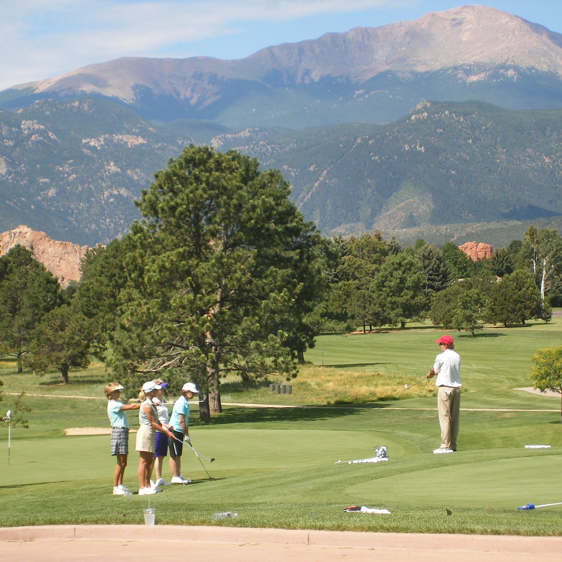 The Garden of the Gods Golfers
